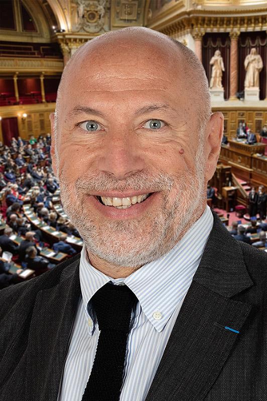 Stéphane Sautarel sénateur du Cantal